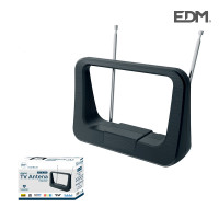 Uhf antena interior tv edm  470-862 mhz classic series 170x120x60mm