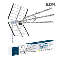 Uhf antena exterior tv edm 470-790 mhz professional series 1020mm