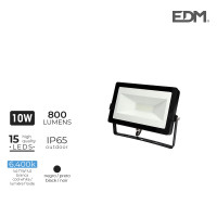 "Proyector led 10w 6400k 800 lumens ""black edition"" lumeco"