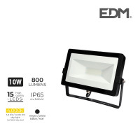 "Proyector led 10w 4000k 800 lumens ""black edition"" lumeco"