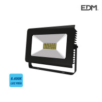 Proyector super led 100w 6.300 lumens  ip65 120-160º 6.400k edm 391x316x94mm