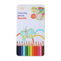 Pack 12 lapices de colores madera