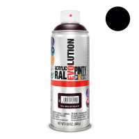 Spray ral 9005 negro brillante